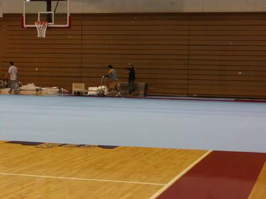 Wood Floor Protection And Gym Floor Protection