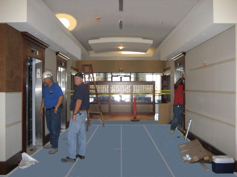 Finish Guard™ Floor Protection and Wall Protection Film, NFPA 701